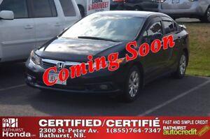 2012 Honda Civic Sedan LX Spoiler! Auto Start! Bluetooth! Power