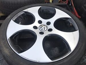 Rim with tire for VW ( 225/40R 18)