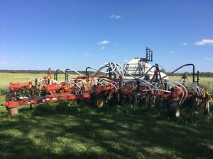 40ft Bourgault 8810 Air Drill