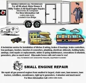 A Service All Tech For Trailers, Motor Homes, Also Small Engines