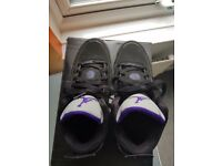 ***Black & Purple Jordans*** size 4.5
