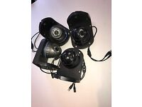 CCTV Analogue 4 CAMERA UPGRADE ( 1.3 mp / 1000 TVL) fit to your existing DVR (recorder) on mounts!