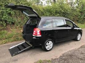 2012 Vauxhall Zafira 1.8i Exclusiv 5dr AUTOMATIC WHEELCHAIR ACCESSIBLE VEHICL...