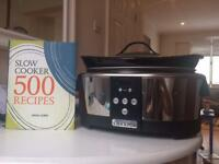 CROCK•POT slow cooker & recipe book