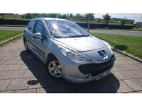 PEUGEOT 207 SPORT 1.4 PETROL 90 BHP LONG MOT APRIL 2018 NICE ALLOYS