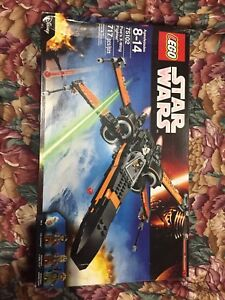 Used Star Wars Lego Set: Poe's X-Wing Fighter