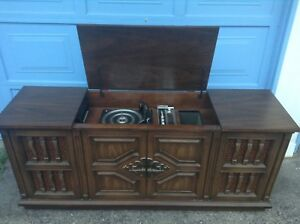 Rare! Vintage Record Player Cabinet Only $100!