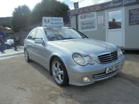 2005 MERCEDES C200 CDI AVANTGUARDE AUTOMATIC { SUMMER SALE ]. No deposit for finance