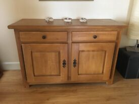 Lovely solid oak sideboard