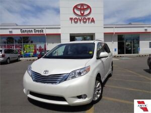 2012 Toyota Sienna XLE AWD 7-Passenger V6 LIMITED ONE OWNER