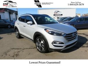 2017 Hyundai Tucson 1.6L TURBO | MOONROOF | LEATHER | BACK-UP CA