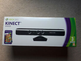 Official Xbox 360 Kinect Sensor with Kinect Adventures