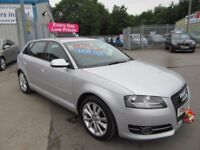 Audi A3 TDI SPORT 5d 103 BHP £20 a year road tax ! (silver) 2012