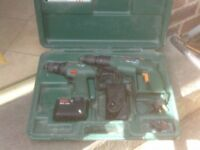 BOSCH CORDLESS DRILLS WITH CHARGER AND CASE £30