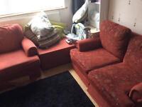 Wardrobe,tv,sofas, display cabinet dinning set and headboard