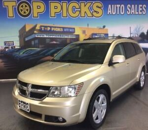 2010 Dodge Journey SXT, FWD, SUNROOF, ALLOYS, VERY CLEAN!