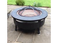 Round Brand New 3-In-1 MultiFunctional Firepit, Ice Bucket And BBQ