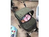 Doll pushchair