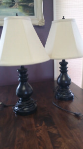 Lamp set with matching floor lamp