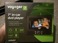 Voyager dual 7inch car DVD players
