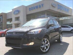 2015 Ford Escape Titanium | 1 OWNER | LOW KILOMETERS | NAVI 4X4