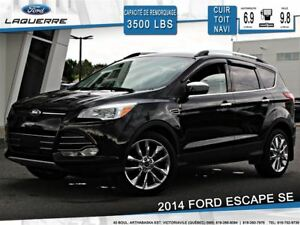 2014 Ford Escape SE AWD **CUIR*TOIT*GPS*HITCH**