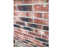 Red rustic 1000 brand new bricks