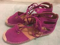 Plum River Island Sandals