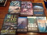 Harlan Coben & Karen Rose Bundle