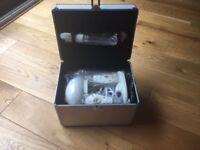 Mini Portable Table Top Facial Steamer with Ozone & Aromatherapy-Silver Fox
