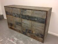 Reclaimed Timber Sideboard - Handmade 160cm x 95cm x 45cm