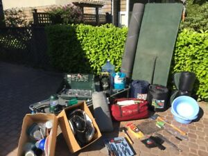 Huge 2 Family Moving Sale in Garage and Driveway