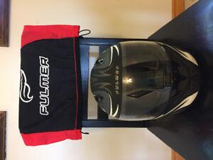 XS motorcycle helmet & gloves