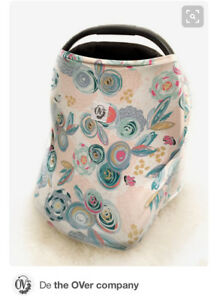 The Over Girl car seat cover, nursing and shopping cart cover