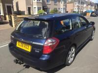 Subaru Legacy 2ltr tdi boxer diesel estate 08reg fsh all main dealer 1 year mot