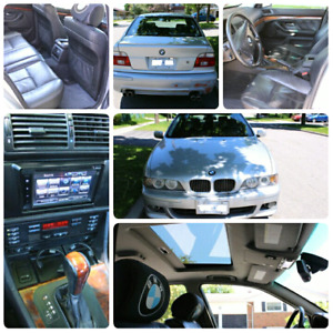 BMW 530i 4dr Sedan, fully equipped