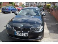 Black BMW 325i in excellent condition