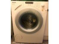 Miele W1613 Washing Machine: WARRANTY to 2022 (Freestanding) Lotus White