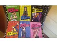 i am selling scott pilgrim books there are 6 of them, the are in good condition and are for teens