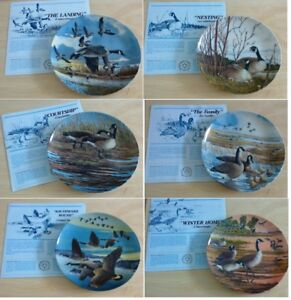 WINGS UPON THE WIND COLLECTOR PLATE SERIES OF ALL 6