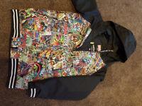 Burton youth snowboard jacket, Marvel, Size XL