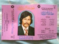 ATTAULLAH KHAN CASSETTE COLLECTION - Pakistani Folk Singer/ Punjabi Music