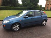 FORD FOCUS 1.8 ZETEC *PART EXCHANGE AVAILABLE* *ONE YEARS MOT*