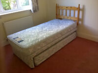 SINGLE BED, with pul out Guest Bed