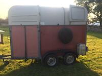 Horse box trailer brilliant con