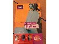 Learn Italian Set (Never used)