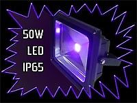UV LED 50W FLOODLIGHT – TWO FOR SALE