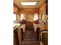 Caravan coachman laser 4 birth + large awning