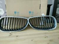 Bmw E60 front grille in chrome