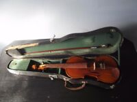 Old Violin And Case